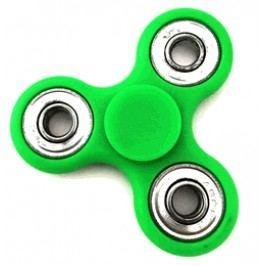 Rappa Fidget Spinner zeleno - stříbrný