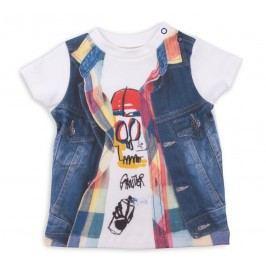 Kitikate Chlapecké tričko s 3D designem Atik - barevné