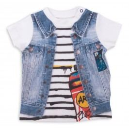 Kitikate Chlapecké tričko s 3D designem Alaz - barevné