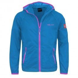 Trollkids Dívčí běžecká bunda Fjell - světle modrá