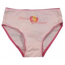E plus M Dívčí kalhotky Princezny - světle růžové