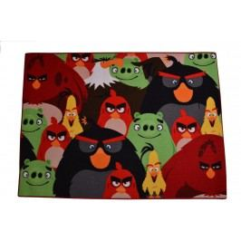 Carpet your life Dětský koberec Angry Birds, 95x133 cm - barevný