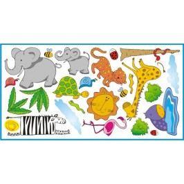 Mint Kitten Samolepka na zeď Safari, 1 m