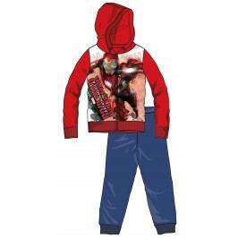 Disney by Arnetta Chlapecká tepláková souprava Captain America - červeno-modrá