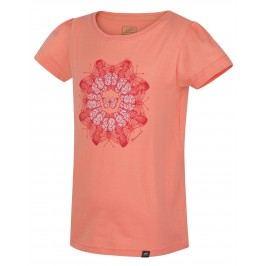 Hannah Dívčí tričko Poppy - světle oranžové