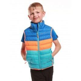 ALPINE PRO Chlapecká vesta Kapeto - barevná