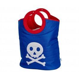 STORE !T Taška na prádlo Pirátská lebka, 60x55 cm