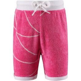 Reima Dívčí froté kraťasy Marmara s UV ochranou 50+ - růžové