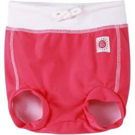 Reima Dívčí plavecké šortky s plenkou Belize s UV ochranou 50+ - červené