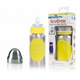 Pacific Baby GroGrow Nerezová ekololáhev 300ml, žlutá