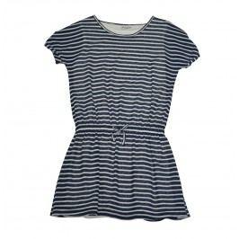 Topo Dívčí pruhované šaty - modré