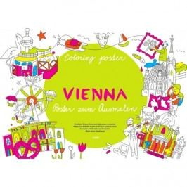 Coloreo Vybarvovací plakát – omalovánka, Vieden
