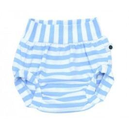 Lamama Chlapecké kalhotky na plenu Stripes - modro-bílé