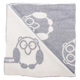 ZOPA Dětská deka Little Owl, Grey