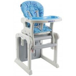 Babypoint Jídelní židlička Gracia, 2017, modrá