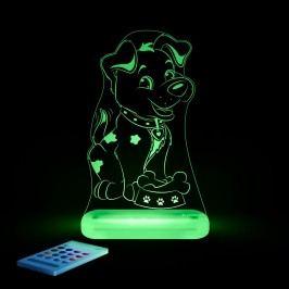 Aloka Noční světýlko Pejsek + ovladač pro volbu barev