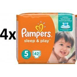 Pampers Pleny Sleep&Play Economy 5 Junior - 168ks