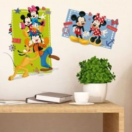 Walplus Samolepka na zeď Mickeyho klubík, 75x40 cm