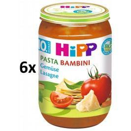 HiPP BIO PASTA BAMBINI Zeleninové lasagne, 6x220g