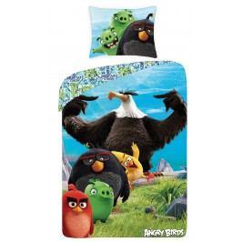 Halantex Dětské oboustranné povlečení Angry Birds, 140x200 cm - Orel Vazoun