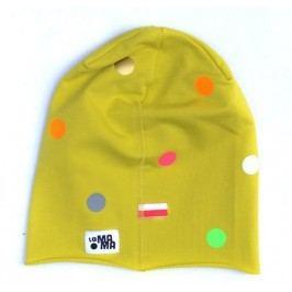 Lamama Chlapecká čepice puntíkovaná - zelená