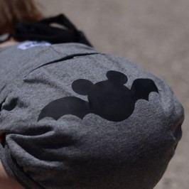 Lamama Kalhotky na plenu Batman 0-6 měsíců - tmavě šedé