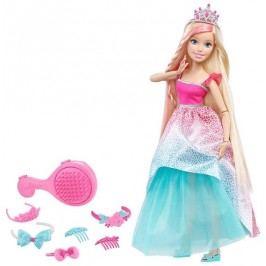 MATTEL Barbie Vysoká princezna s dlouhými vlasy - Blond