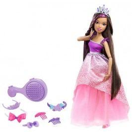 MATTEL Barbie Vysoká princezna s dlouhými vlasy - Brunetka