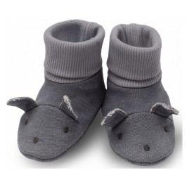 Pinokio Dětské capáčky/ponožky Colette - šedé