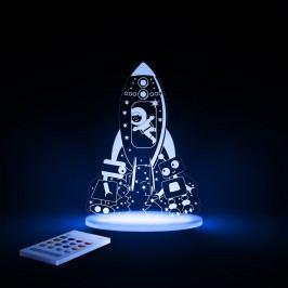Aloka Noční světýlko Kosmonaut + ovladač pro volbu barev