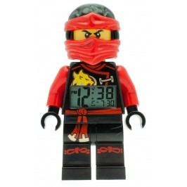 LEGO® Watch & Clock Dětské hodiny s budíkem Ninjago Sky Pirates Kai - 25 cm