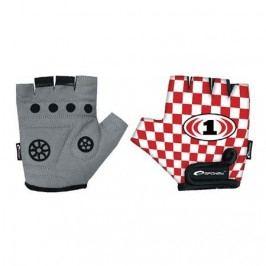 Spokey Dětské cyklistické rukavice Race Glove XS (16 cm)