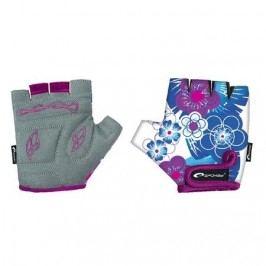 Spokey Dětské cyklistické rukavice Blue  Glove XS (16 cm)