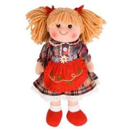 Bigjigs Látková panenka Mandie 35 cm