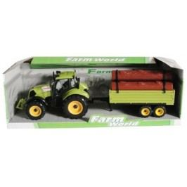 Mac Toys Traktor s valníkem