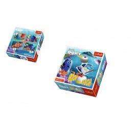 Trefl Boom Boom - Hledá se Dory + puzzle 4v1