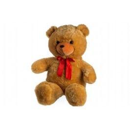 Teddies Medvěd s mašlí - 100 cm - světle hnědý