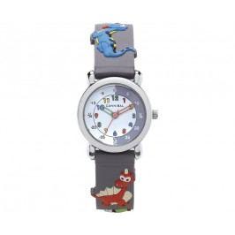 Cannibal Chlapecké hodinky s draky - šedé