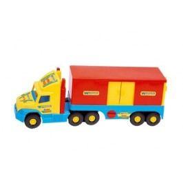 WADER Auto Super Truck kontejner plast 78 cm - žlutý