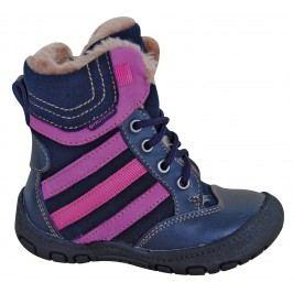 Protetika Dívčí zimní boty Alex - tmavě modré