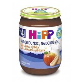 HiPP BIO Kaše na dobrou noc s keksy a jablky 190g