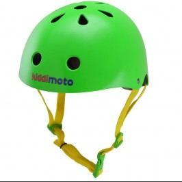 Kiddimoto Cyklistická helma Neon - zelená, velikost S
