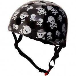 Kiddimoto Cyklistická helma Skullz - velikost S