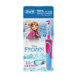 Oral-B Vitality Frozen, dobíjecí kartáček+ ZDARMA penál