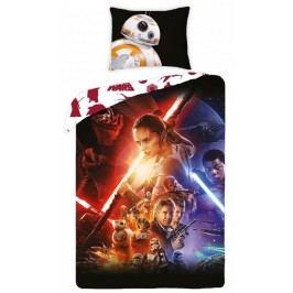 Halantex Dětské oboustranné povlečení Star Wars - BB-8, 140x200 cm/70x90 cm - barevné