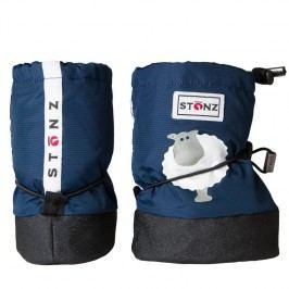 Stonz Dětské nepromokavé capáčky/návleky/sněhule s ovečkou - modré