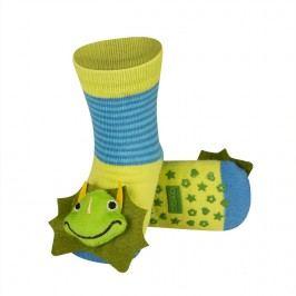 SOXO® Chlapecké protiskluzové ponožky s drakem - zelené
