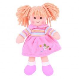 Bigjigs Látková panenka Jenny - 25 cm