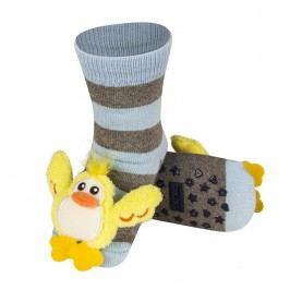 SOXO® Chlapecké protiskluzové ponožky s káčátkem - barevné