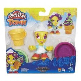 Play-Doh PlayDoh Town Figurka - Zmrzlinářka